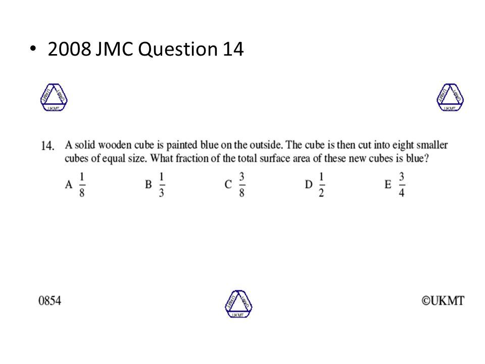 2008 JMC Question 14