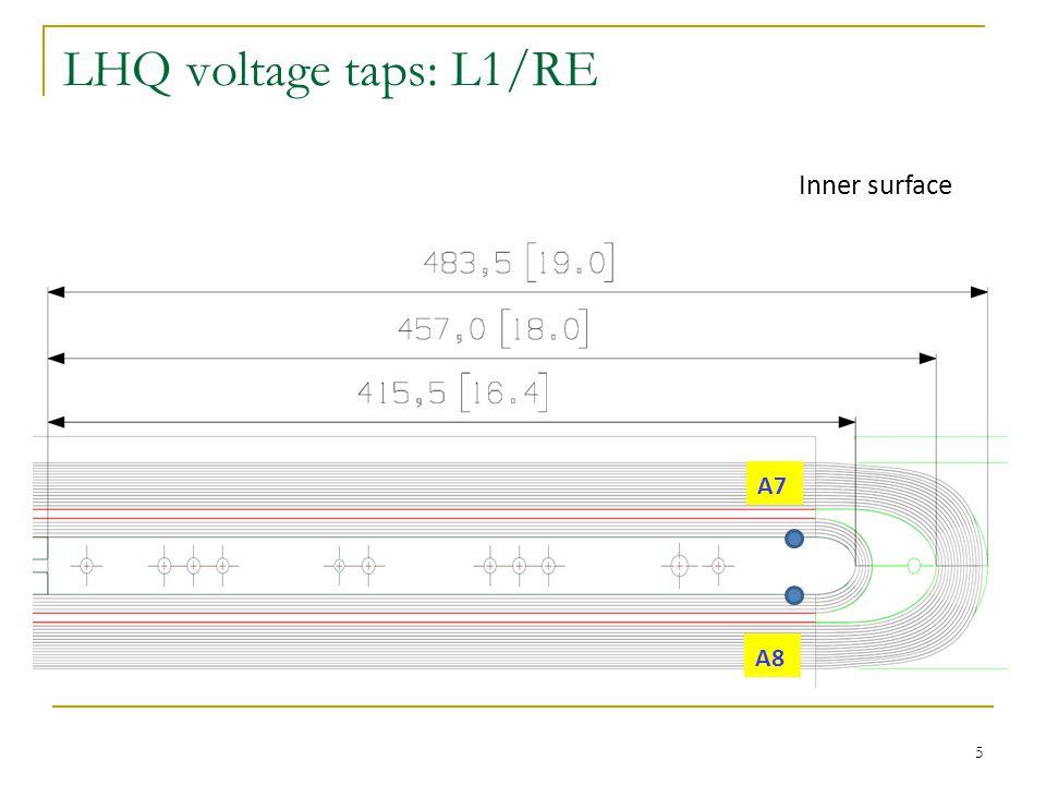 TQ voltage taps