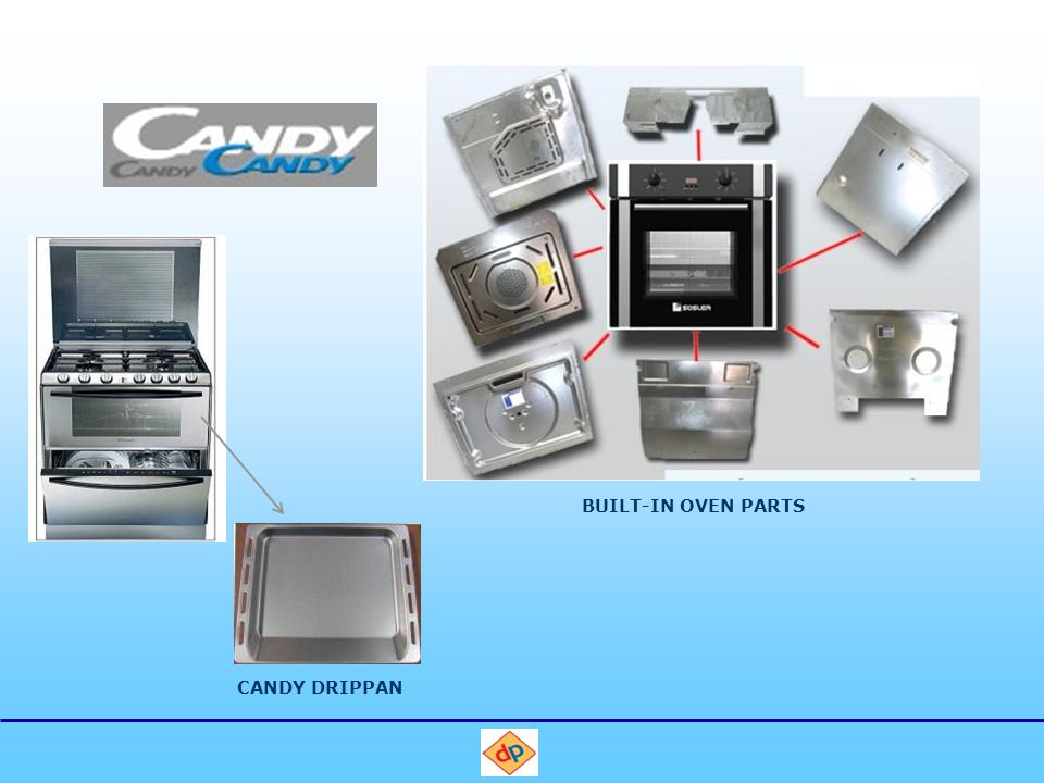 CANDY DRIPPAN BUILT-IN OVEN PARTS