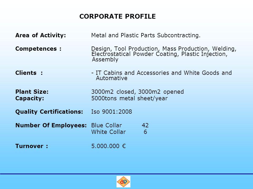 Competences Prestij company was established on 1986 in Eskisehir Muttalip Industrial Zone..