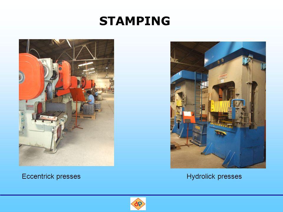 STAMPING Eccentrick pressesHydrolick presses