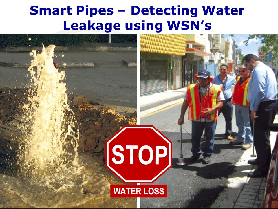 Smart Pipes – Detecting Water Leakage using WSN's