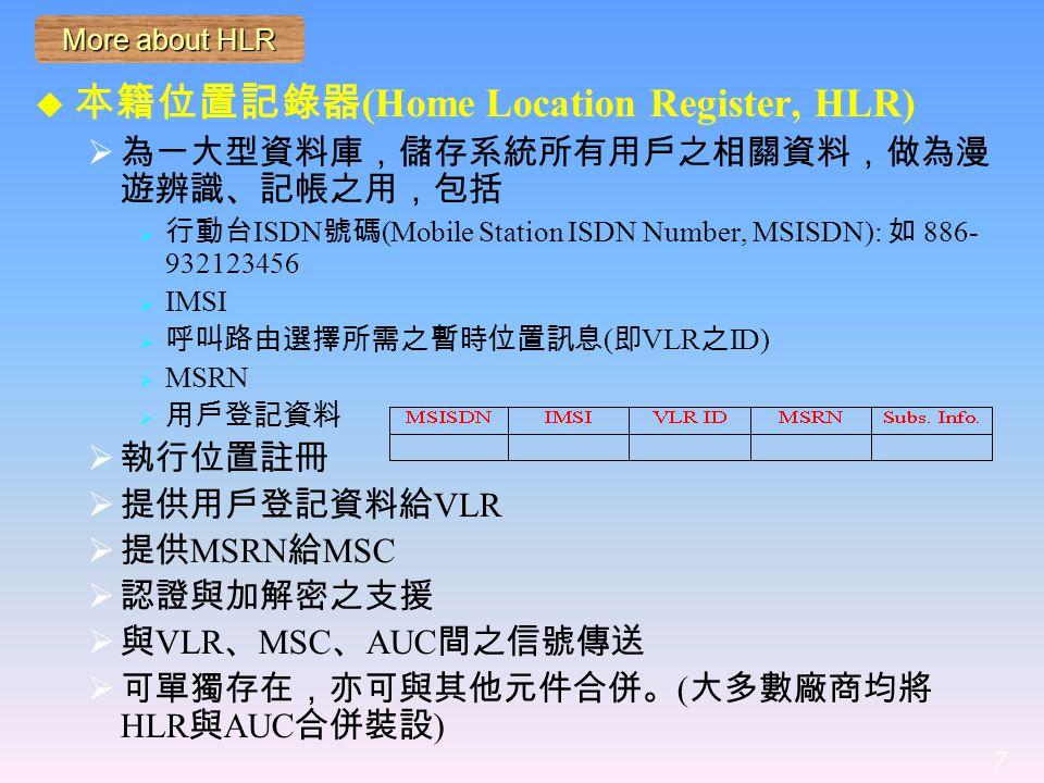 GPRS network architecture 8