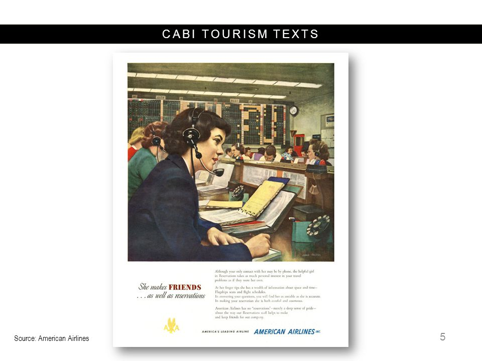 CABI TOURISM TEXTS Tour Operator Use of IT  Package creation  Tour package distribution  Reservations and customer management 16