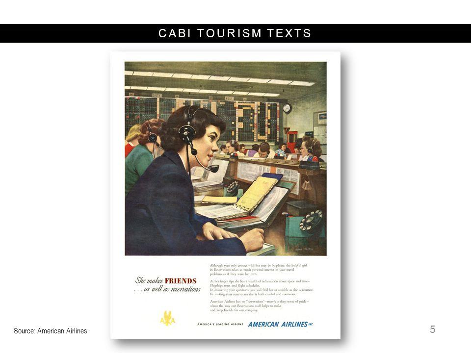 CABI TOURISM TEXTS 1960 IBM, AA 1960 1970 1980 1990 2000 1964 IBM 1982 DL 1990 1971 1987 BA, KL, OS, AZ, SR, OA, SN, TP, EI, Covia 1993 1986 1995 1982 CO 1987 AF, IB.