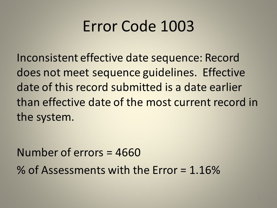 Error Code 129 Inconsistent M0090 date: Discharge record was not completed within CMS timing guidelines.