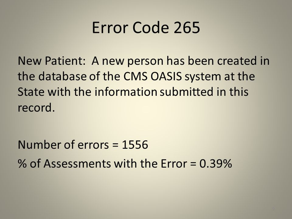 Error Code 257 The submitted HIPPS_CODE must match the calculated HIPPS_CODE value.