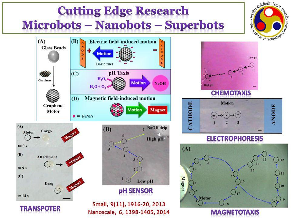 Small, 9(11), 1916-20, 2013 Nanoscale, 6, 1398-1405, 2014