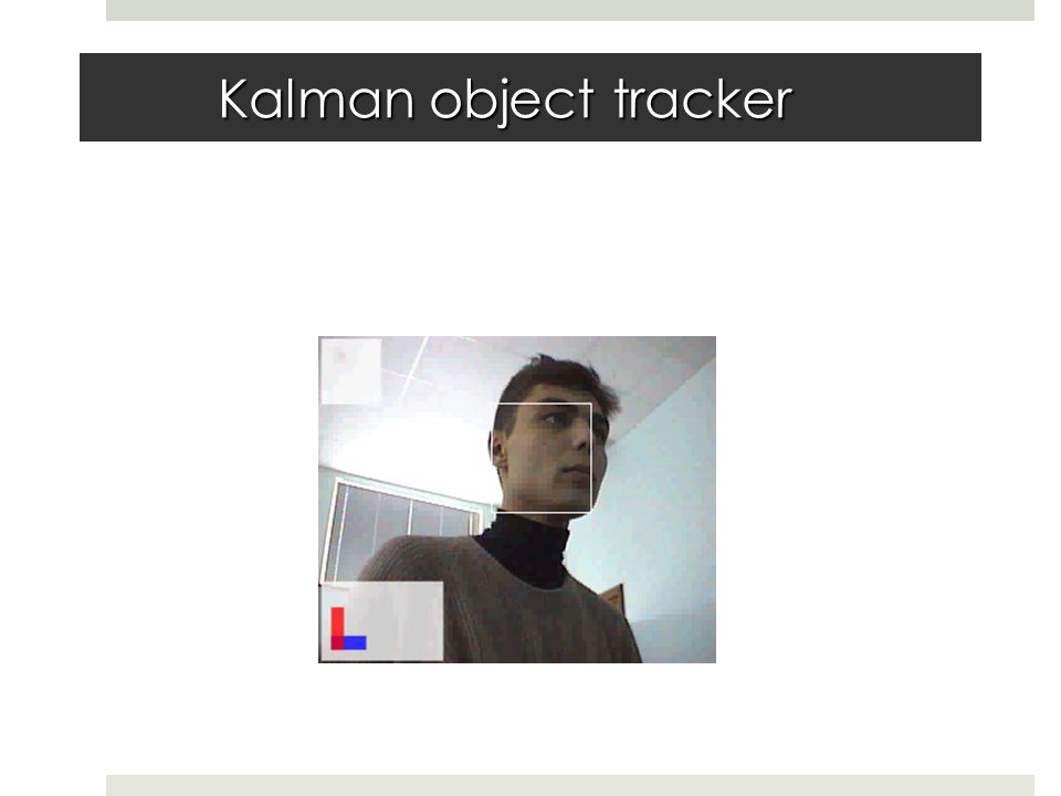 Kalman object tracker