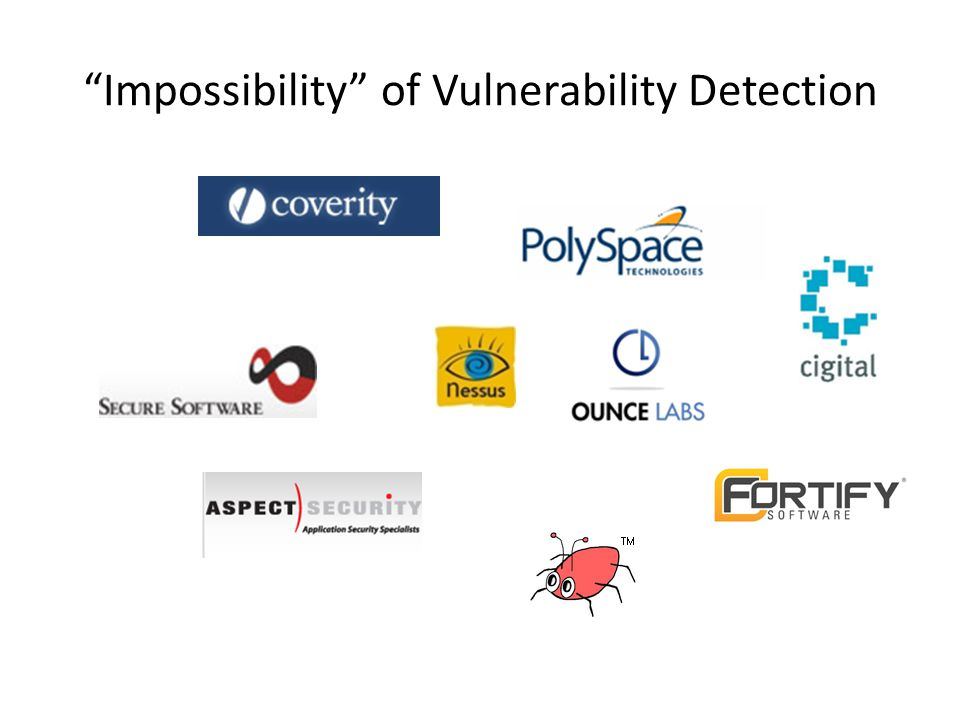 Impossibility of Vulnerability Detection