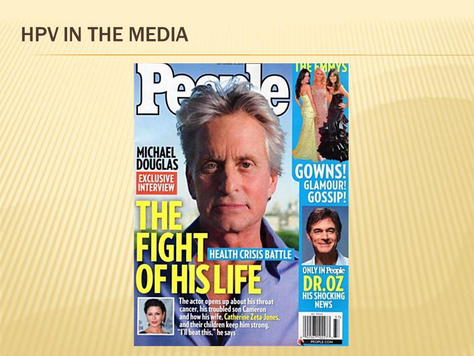 HPV IN THE MEDIA