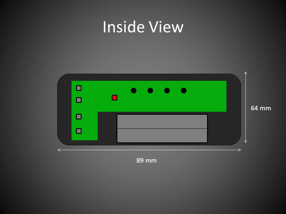 Inside View 89 mm 64 mm