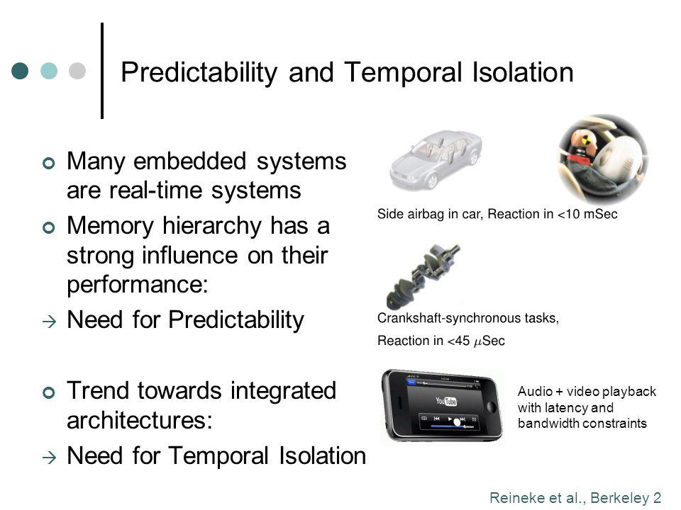 Reineke et al., Berkeley 3 Outline Introduction DRAM Basics Related Work: Predator and AMC PRET DRAM Controller: Main Ideas Evaluation Integration into Precision-Timed ARM