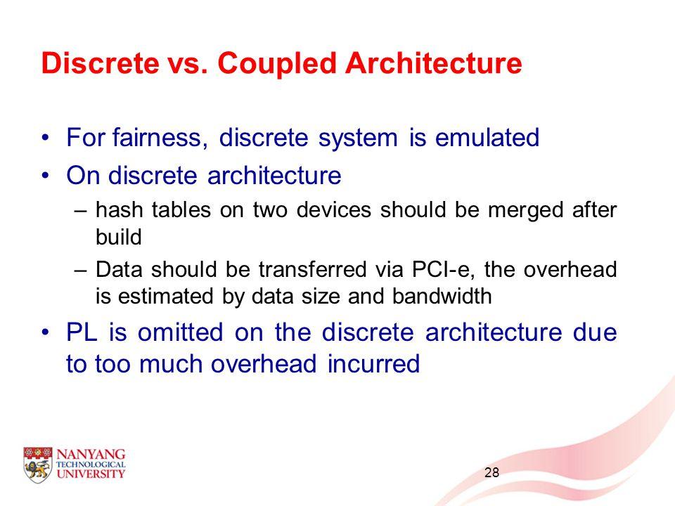 Discrete vs.