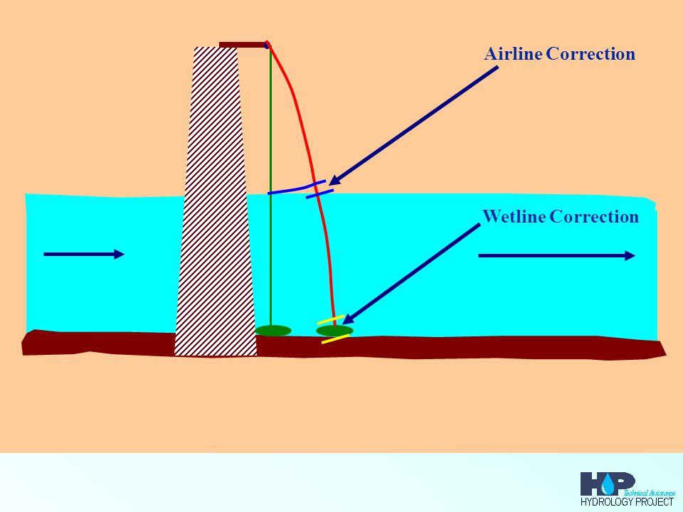 Airline Correction Wetline Correction
