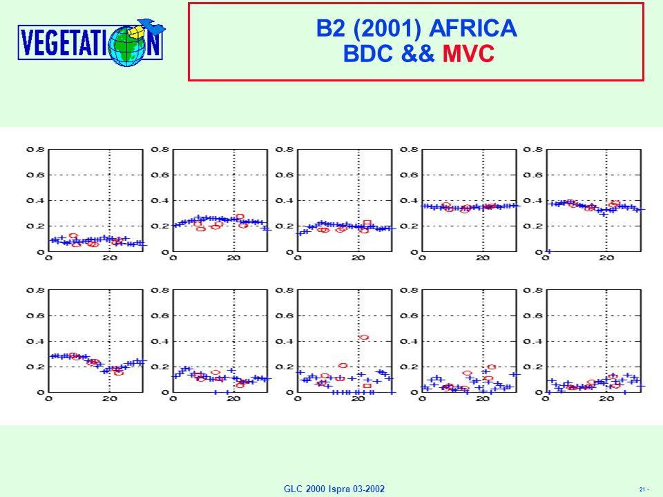 21 - GLC 2000 Ispra 03-2002 B2 (2001) AFRICA BDC && MVC