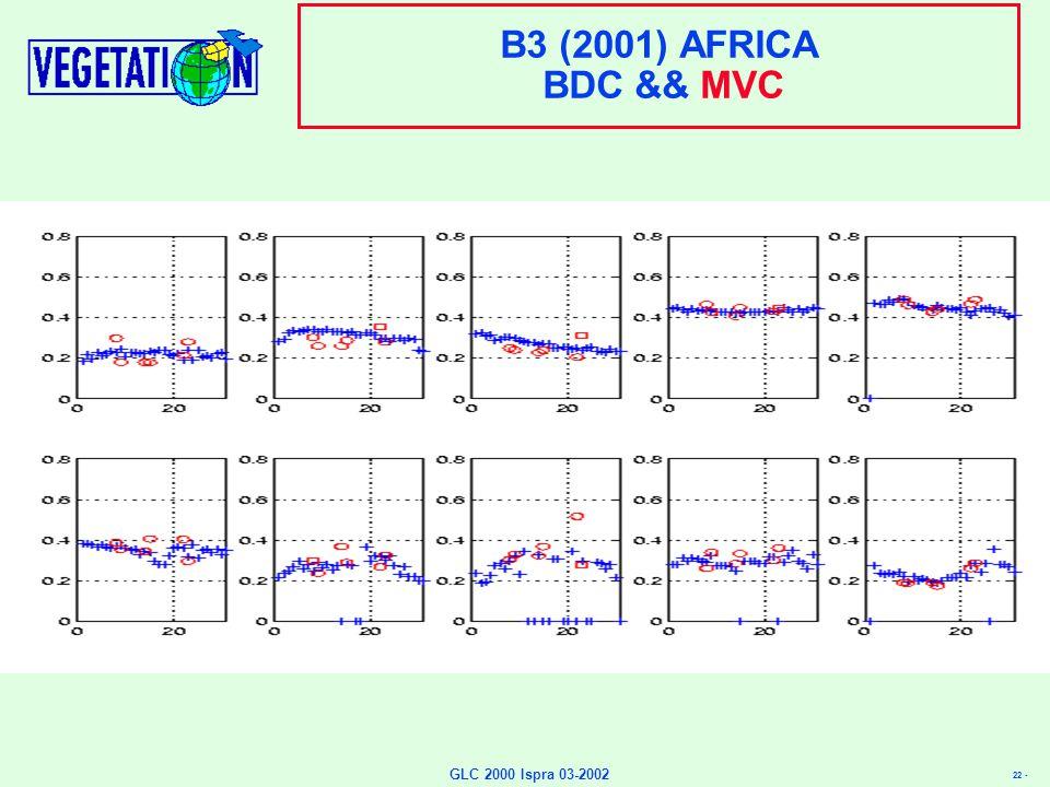 22 - GLC 2000 Ispra 03-2002 B3 (2001) AFRICA BDC && MVC