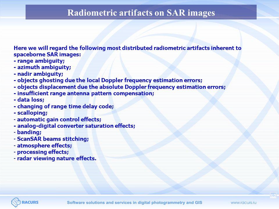 RADARSAT-1 SAR.Survey mode SNB.