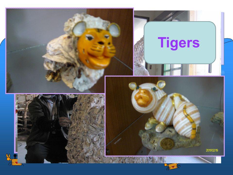 Oyster Art 3.Benefits: Oyster shells beautiful artwork.
