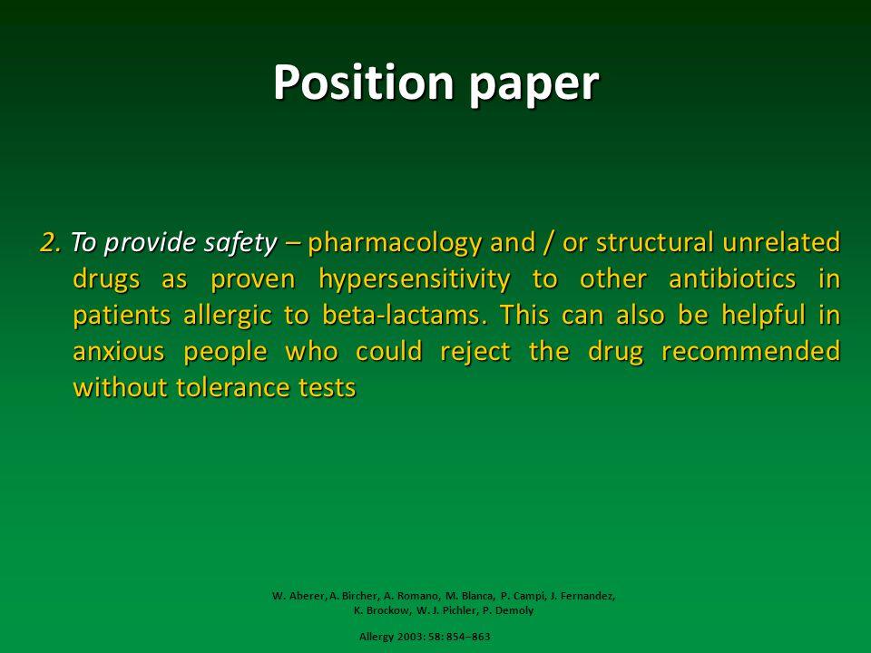 Position paper 2.
