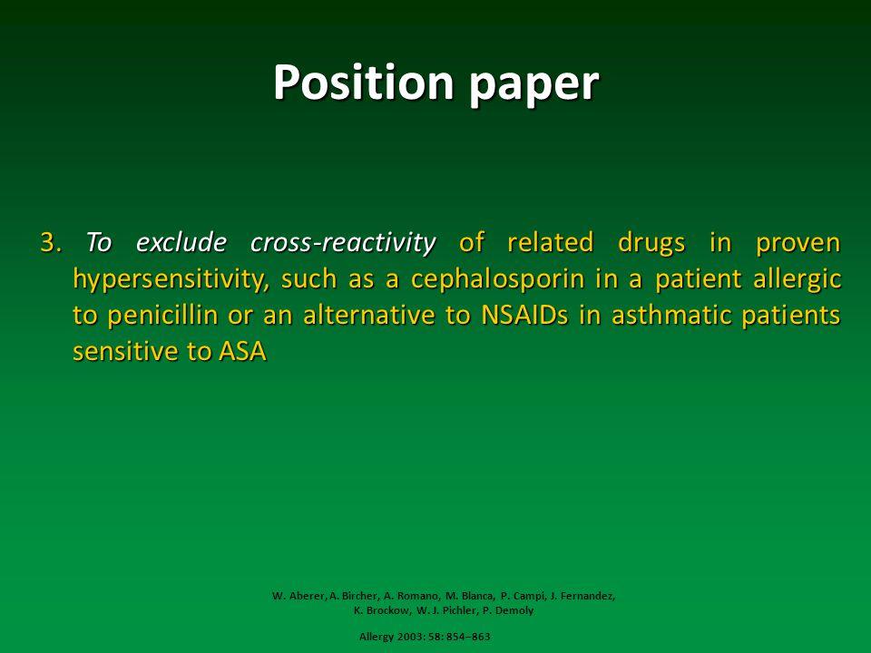 Position paper 3.
