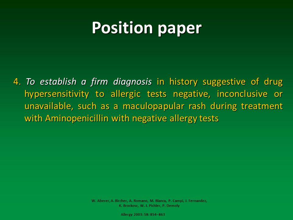 Position paper 4.