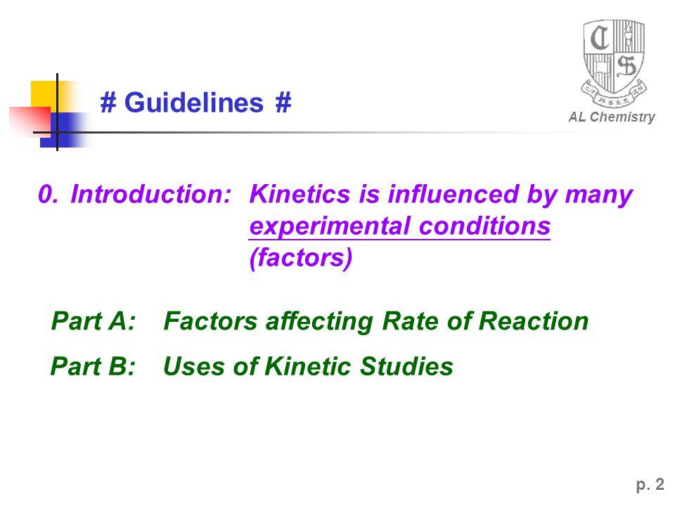 # Guidelines # AL Chemistry p.