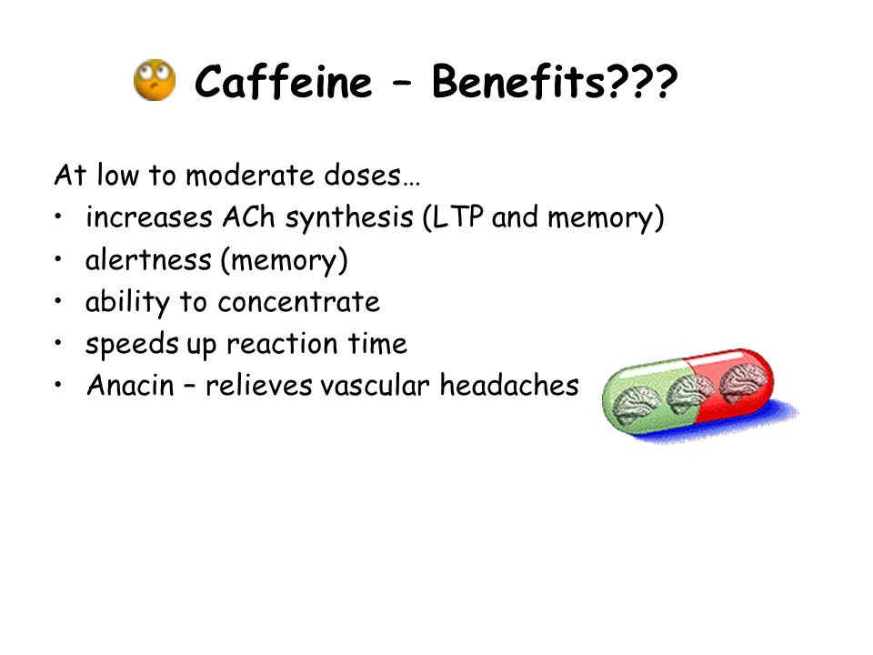 Caffeine – Benefits .