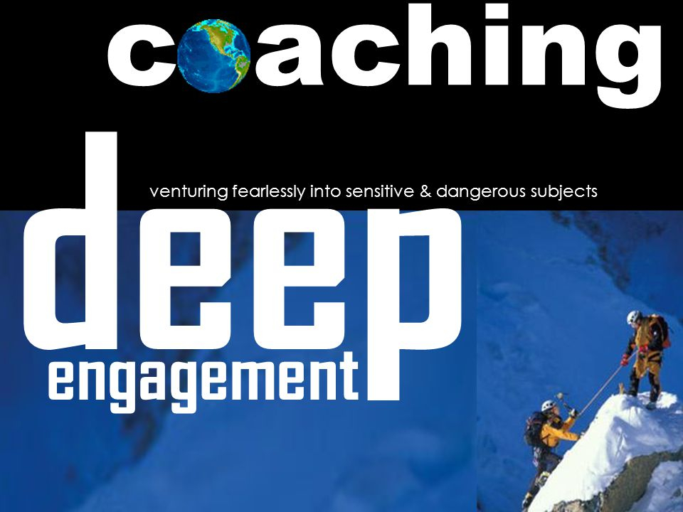 deep engagement venturing fearlessly into sensitive & dangerous subjects achingc