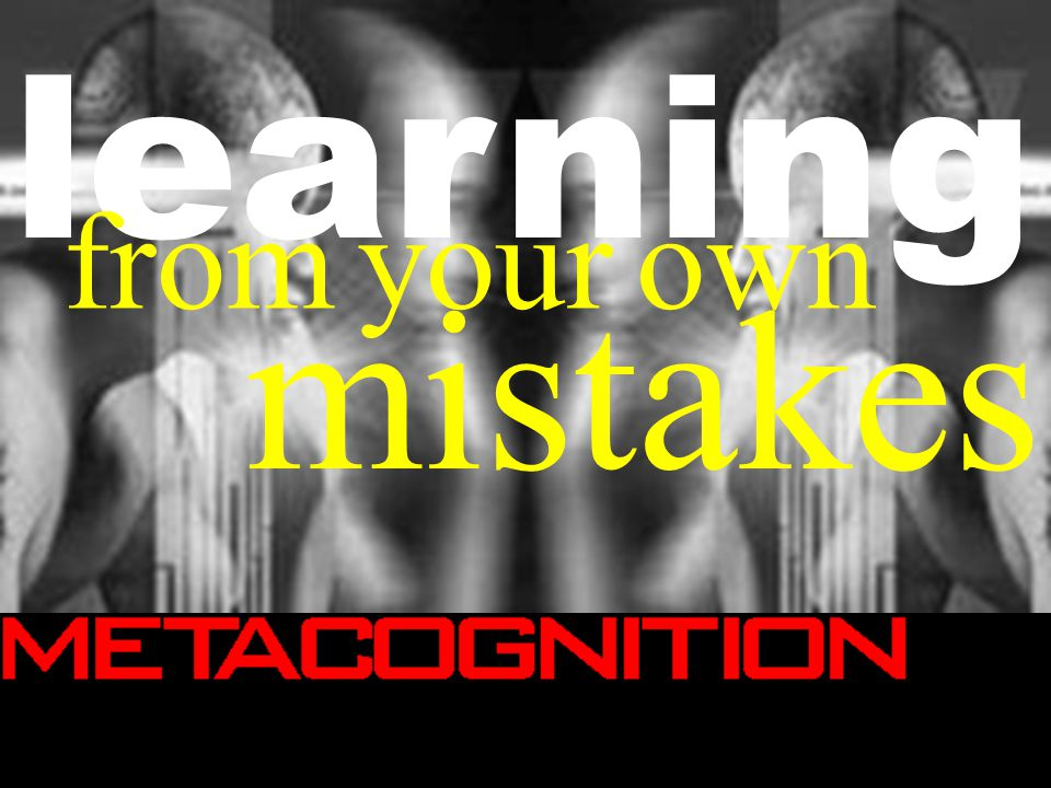 mistakes learning from your own