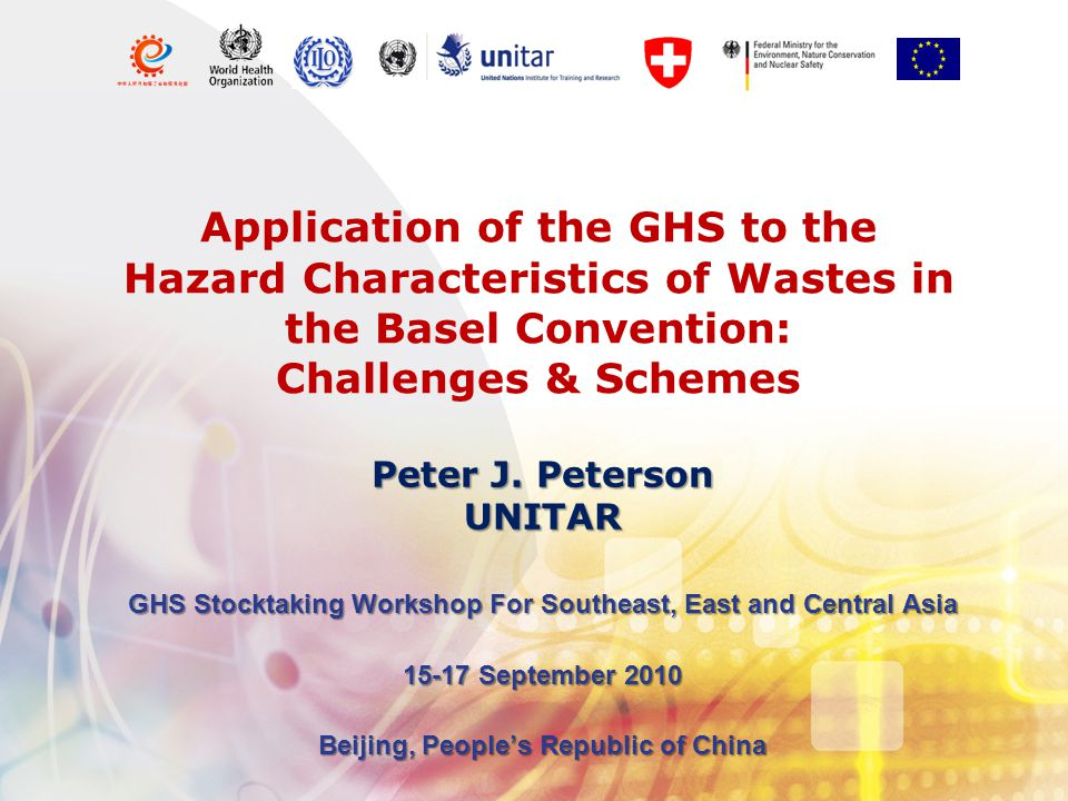 The overall goal is to protect human health and the environment against adverse effects that may result from the generation, transboundary movements and disposal of hazardous waste and other wastes; Hazardous waste not defined under 'Definitions' Article 2; Hazardous waste declared in Article I to be: '1(a) Wastes that belong to any category contained in Annex I, unless they do not possess any of the characteristics contained in Annex III; and 1(b) wastes that are not covered under paragraph (a) but are defined as, or are considered to be, hazardous wastes by the domestic legislation of the Party of export, import or transit' Basel Convention