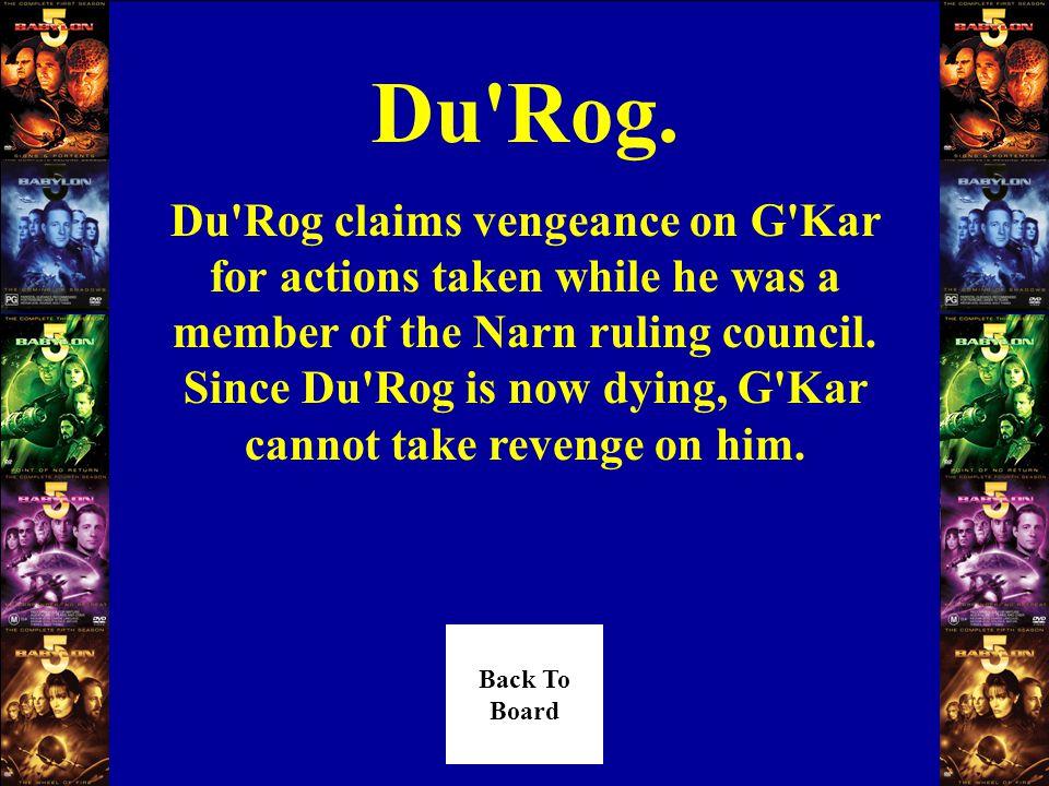 Who hired Tu Pari to kill G Kar Answer