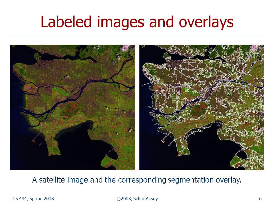 CS 484, Spring 2008©2008, Selim Aksoy37 Composite regions