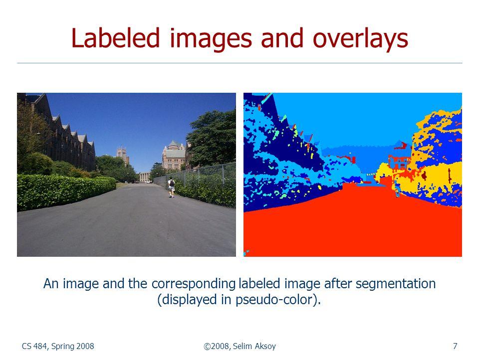 CS 484, Spring 2008©2008, Selim Aksoy38 Examples Region representation examples.