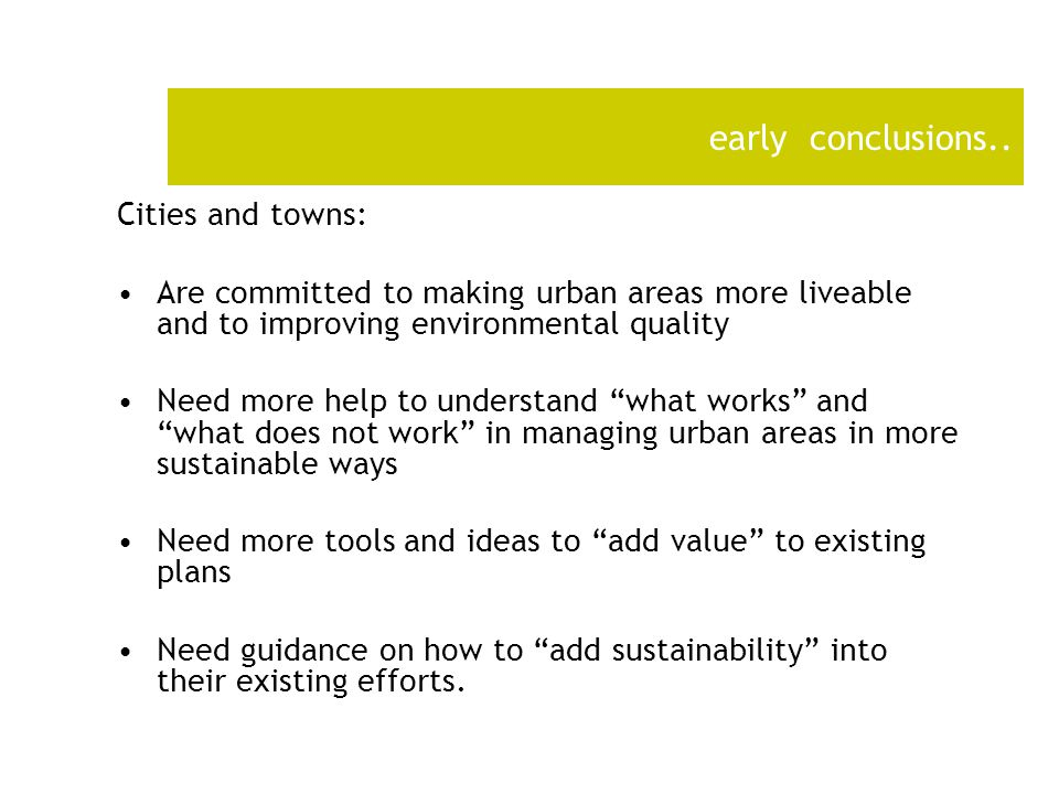 The Liveable Cites Guidance Document -7P's –The secret to Liveable urban areas is to make sure that your city/ town has the seven essential P's –(the Peas.