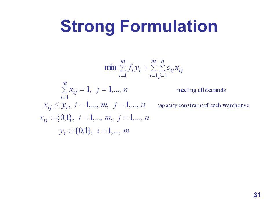 31 Strong Formulation