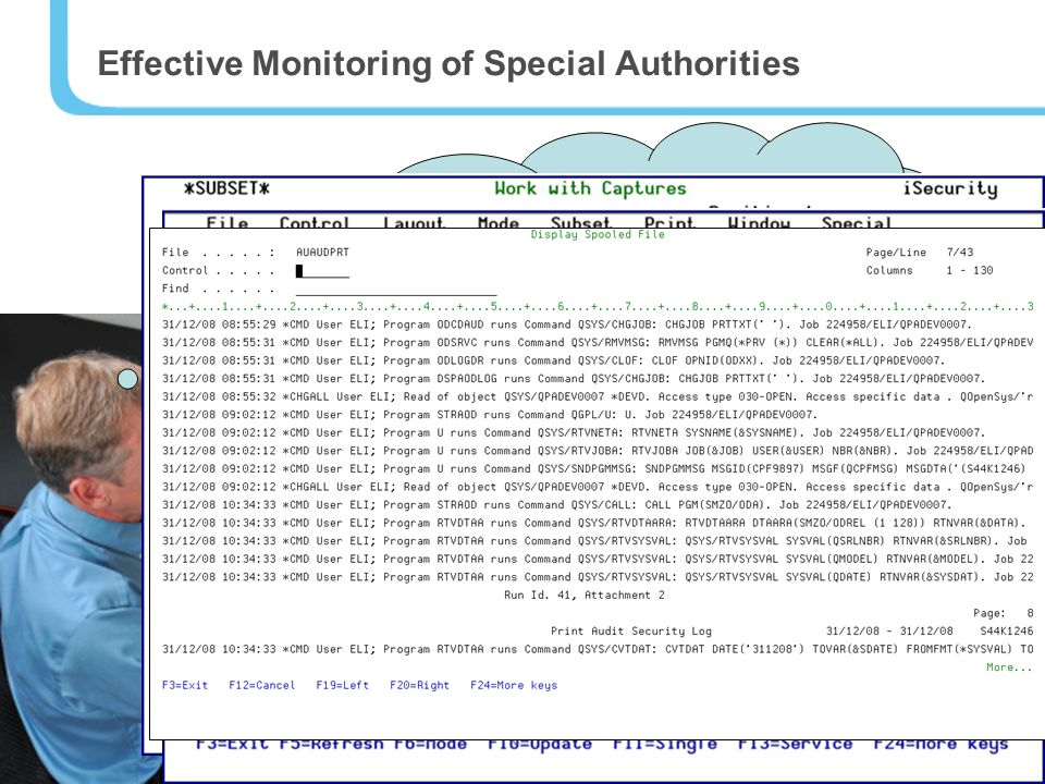 9 Finally, I don't have to waste my time on granting special authorities… the whole process is automatic and I can see a full log of Sam's authority requests and even screen captures.