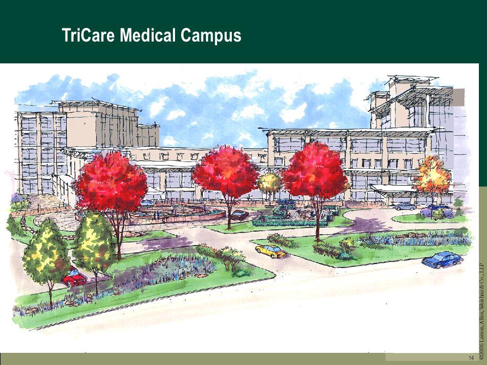 ©2006 Larson, Allen, Weishair & Co., LLP 14 TriCare Medical Campus