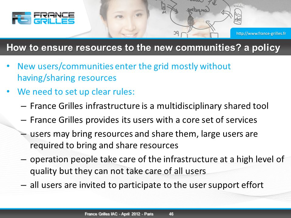 How to ensure resources to the new communities.