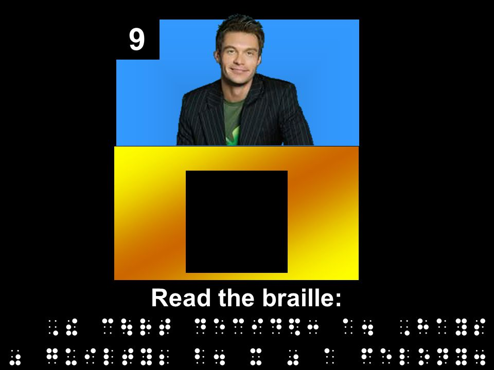9 Read the braille:,! c\rt decid$3 a4,hays 0 guilty2 b4 x 0 a felony4