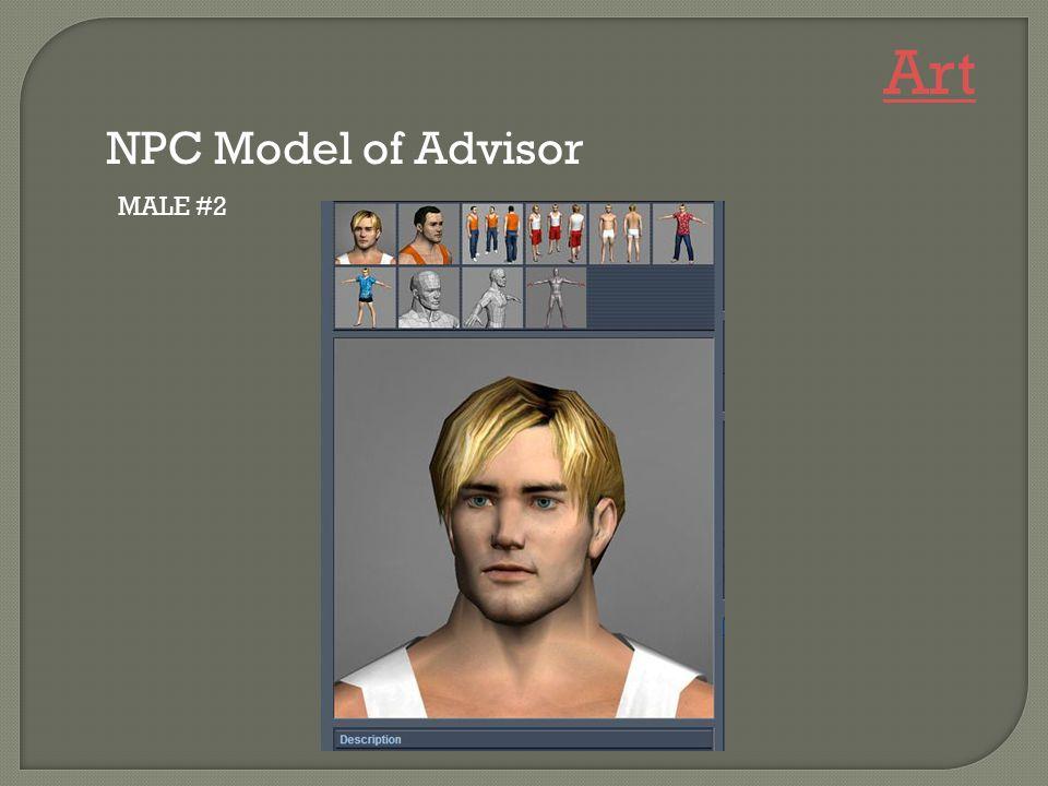 MALE #2 NPC Model of Advisor Art