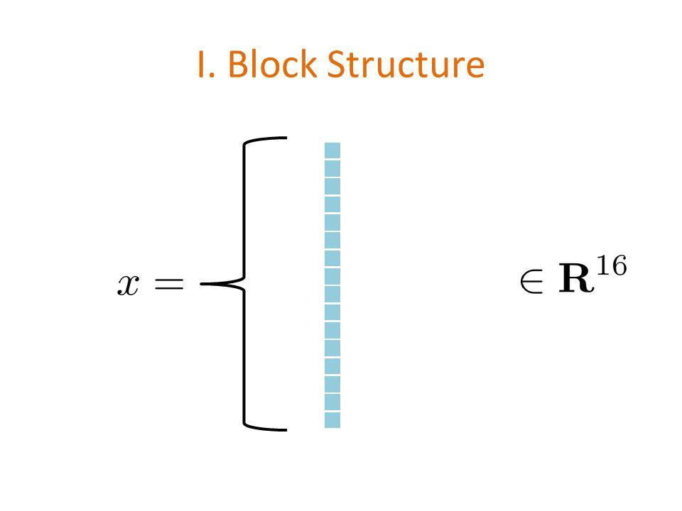 I. Block Structure