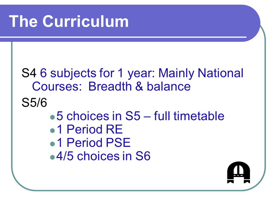 Progression Routes S4 National 3 National 4 National 5 S5 National 3 National 4 National 5 Higher S6 National 3 Higher Advanced Higher National 4 National 5