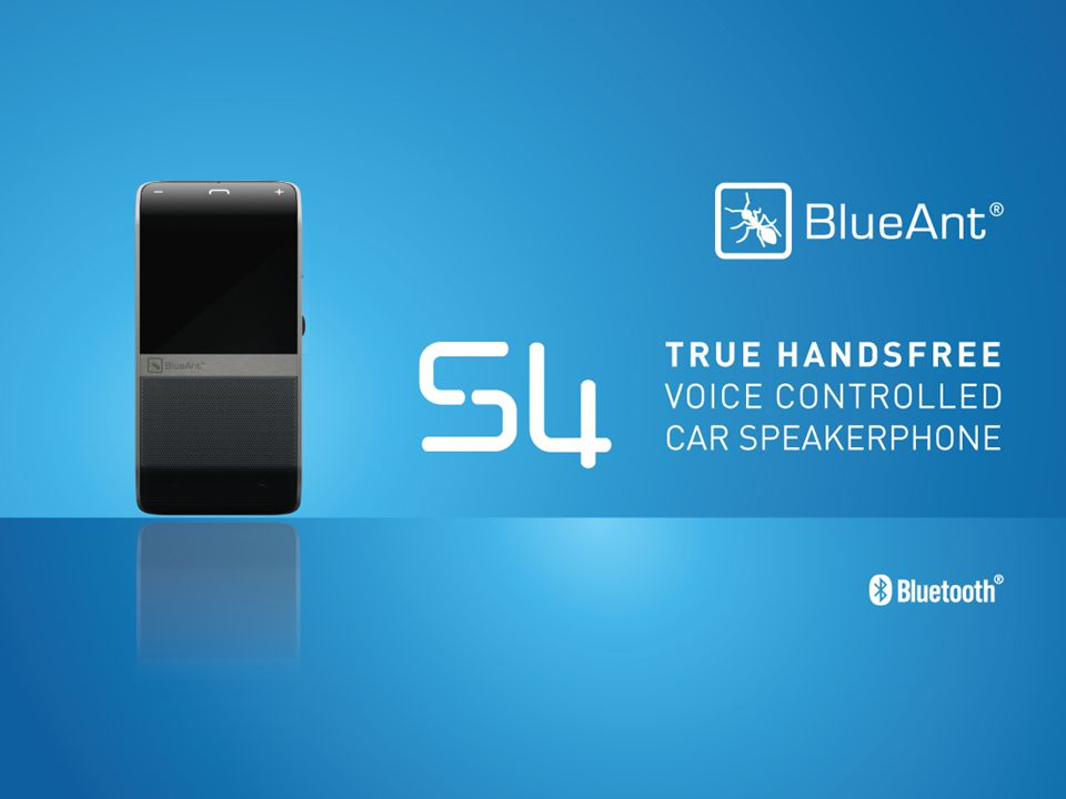 With the BlueAnt S4 you no longer have any need to touch your mobile phone or car speakerphone while driving With the S4 you are truly hands-free.