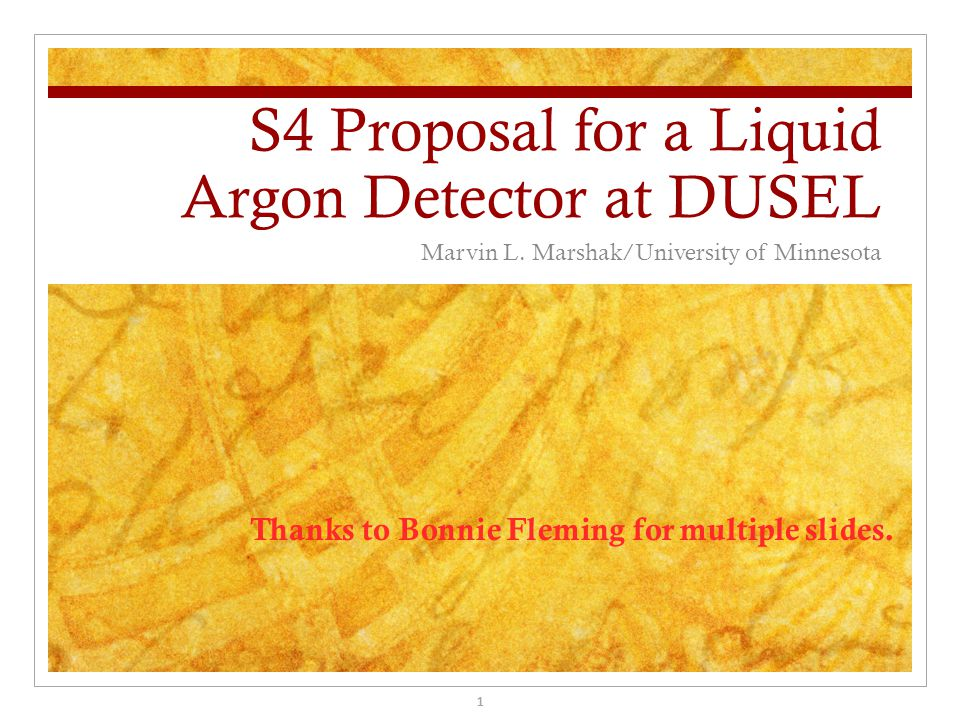 S4 Proposal for a Liquid Argon Detector at DUSEL Marvin L.