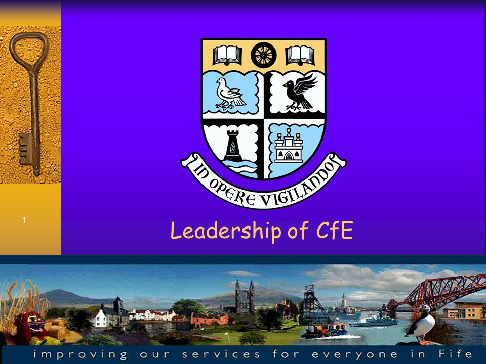 1 Leadership of CfE