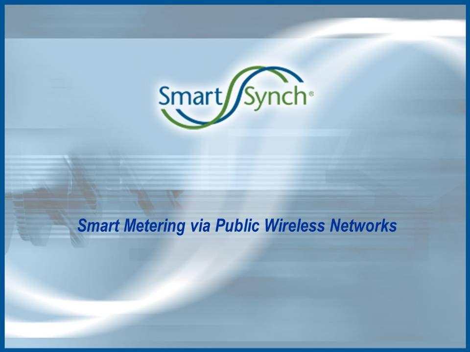 Smart Metering via Public Wireless Networks