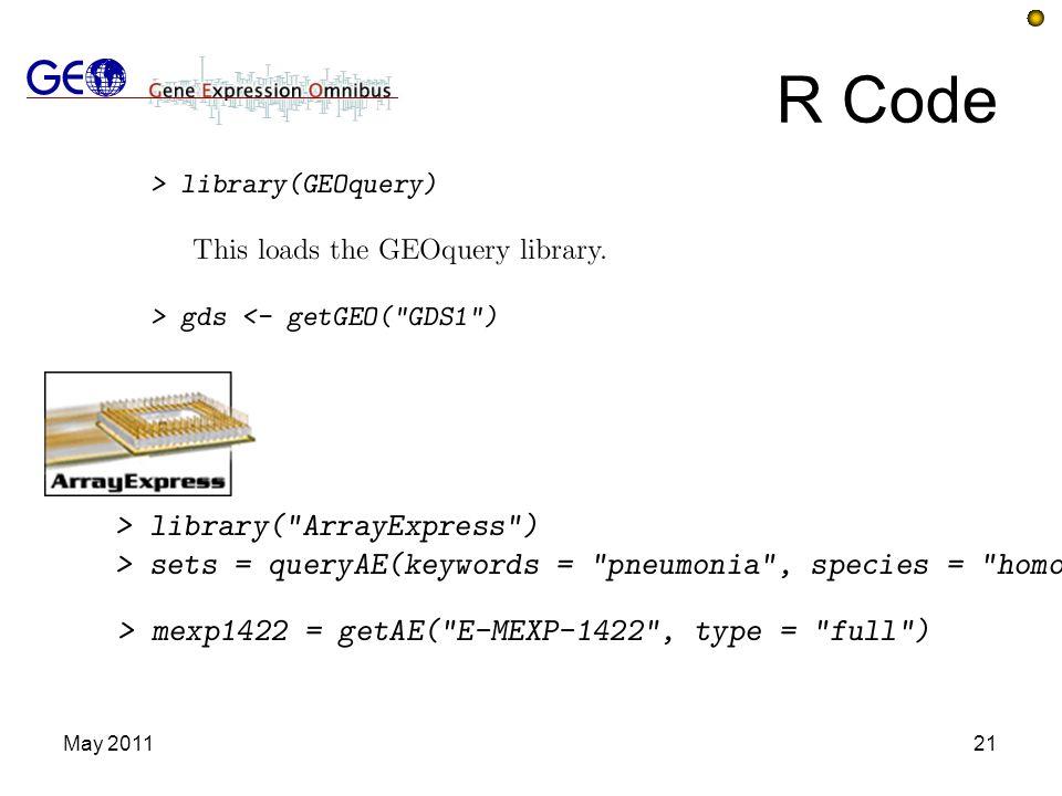 R Code May 201121