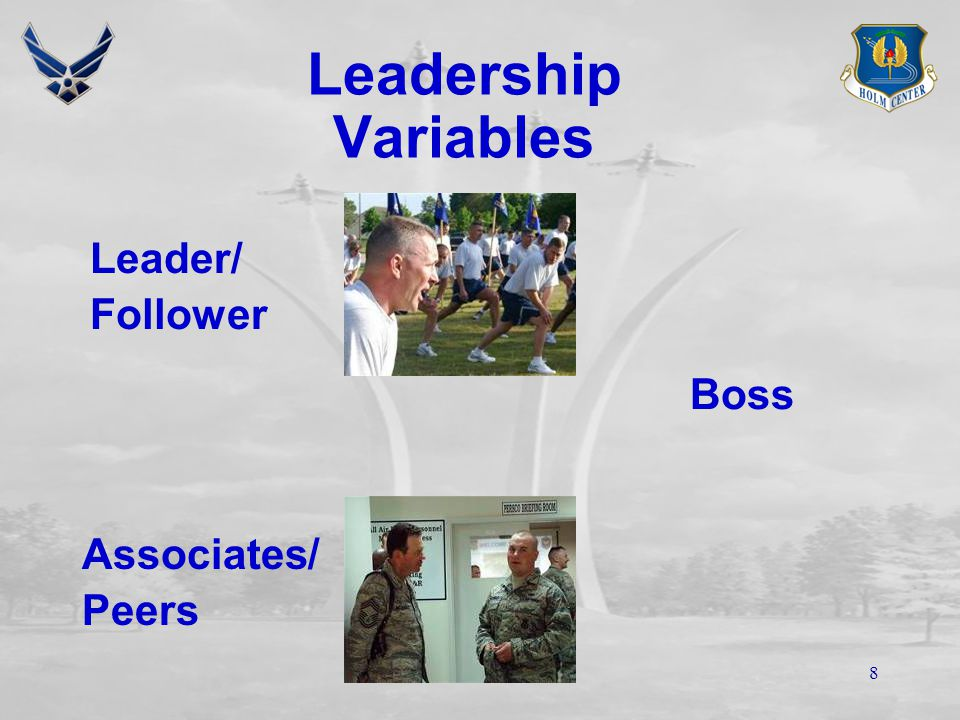 7 Leadership Variables