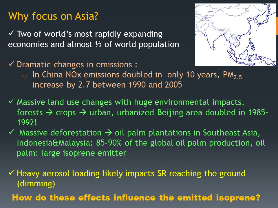 Why focus on Asia.